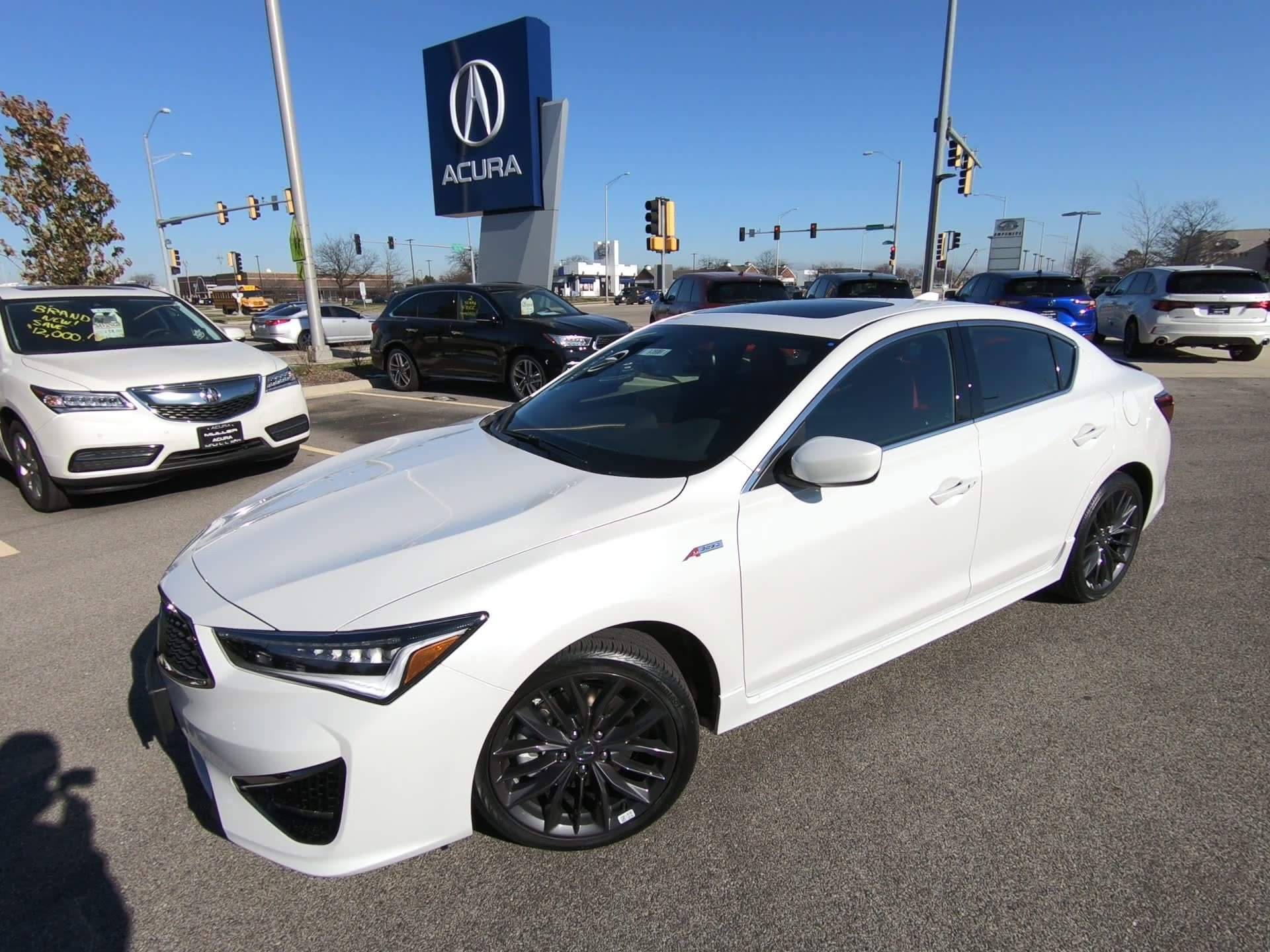 New 2019 Acura ILX w Technology A SPEC Pkg 4dr Car I