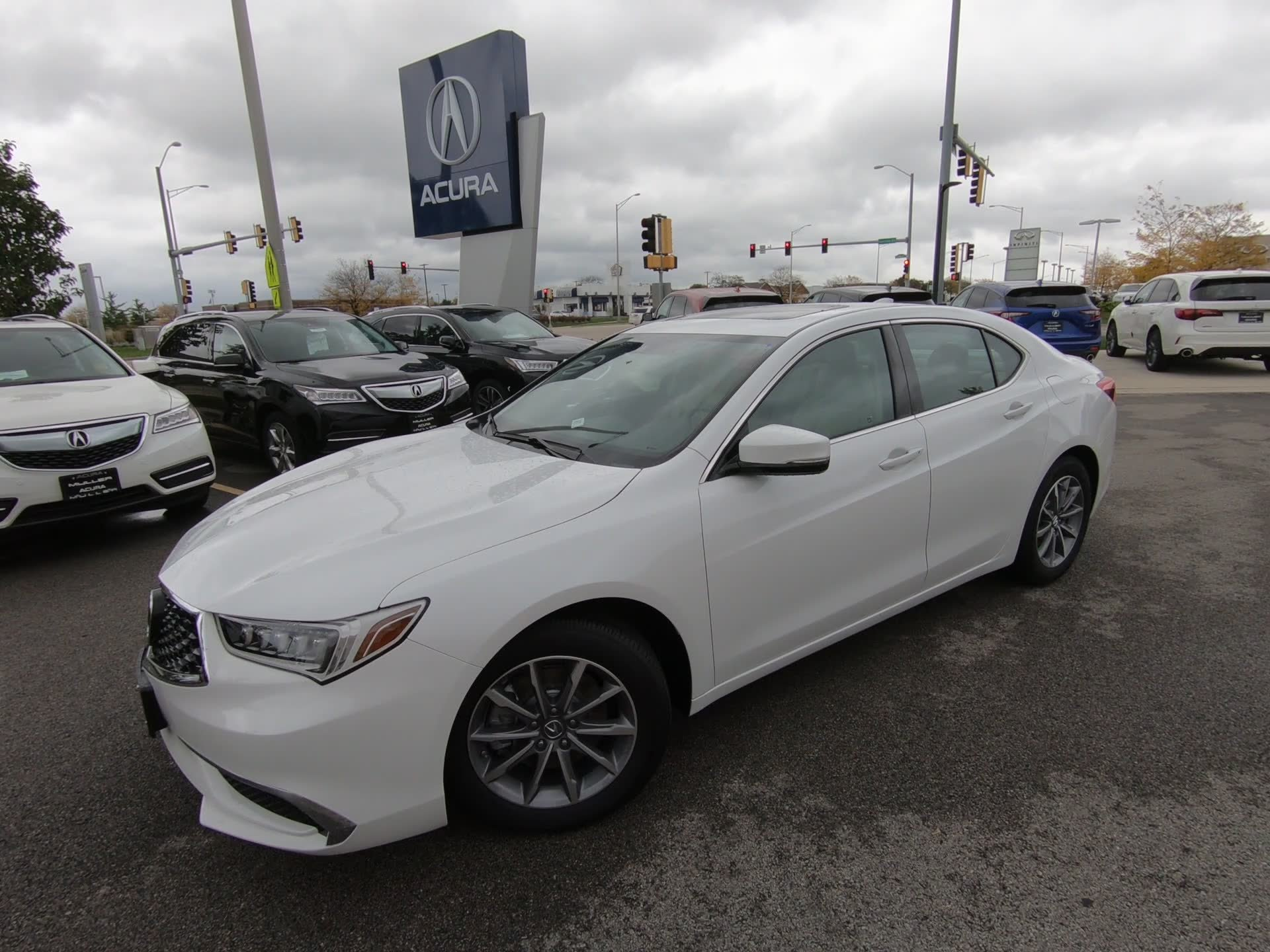 New 2019 Acura TLX w Technology Pkg 4dr Car T
