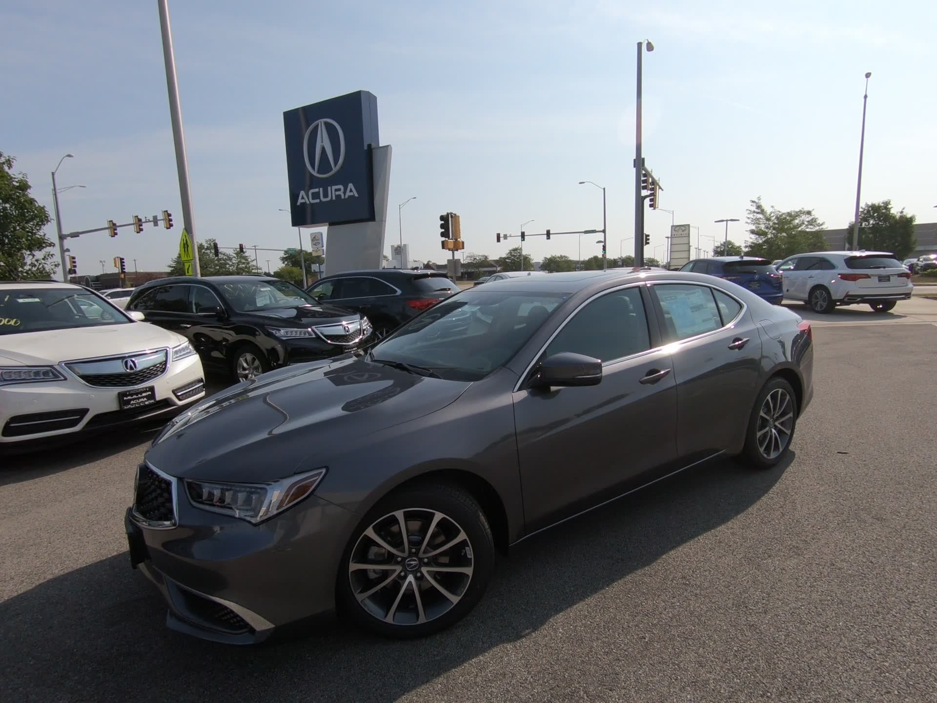 New 2019 Acura TLX 3 5L V6 4dr Car T