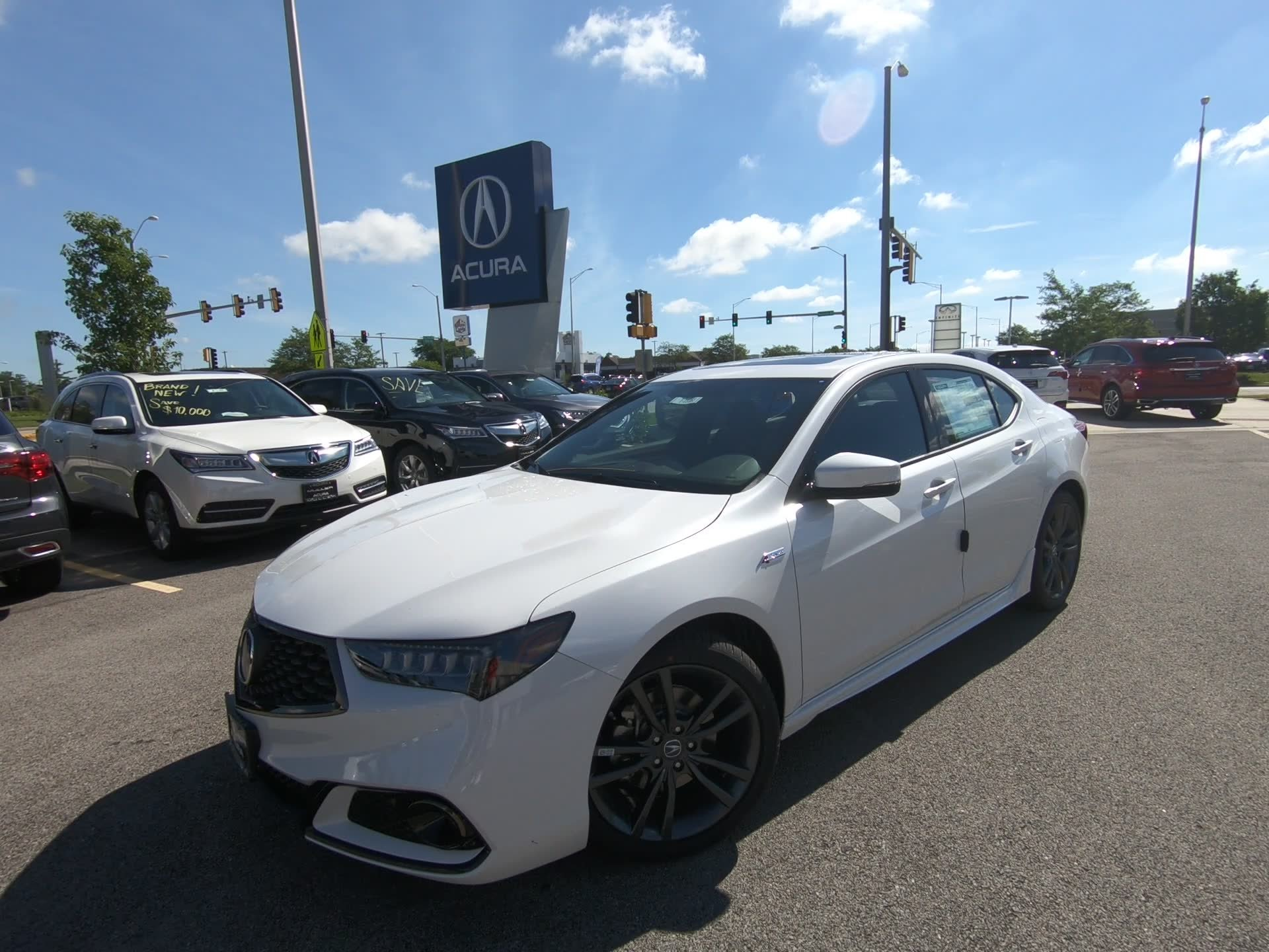 New 2019 Acura TLX w A SPEC Pkg 4dr Car T
