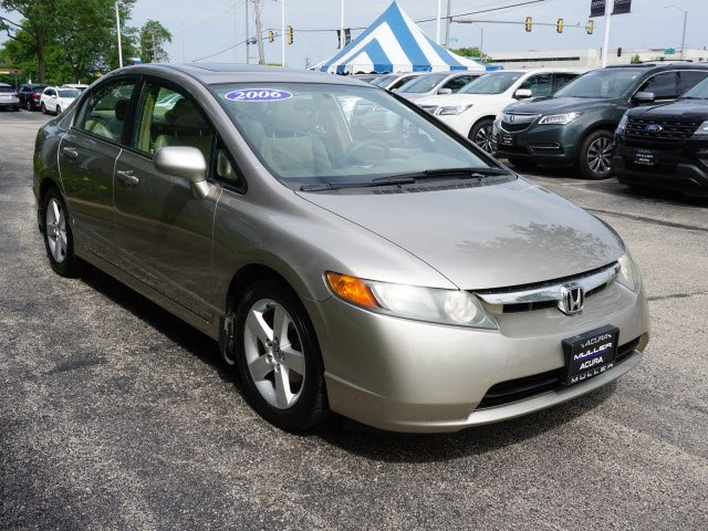 Pre-Owned 2006 Honda Civic Sdn EX FWD 4dr Car