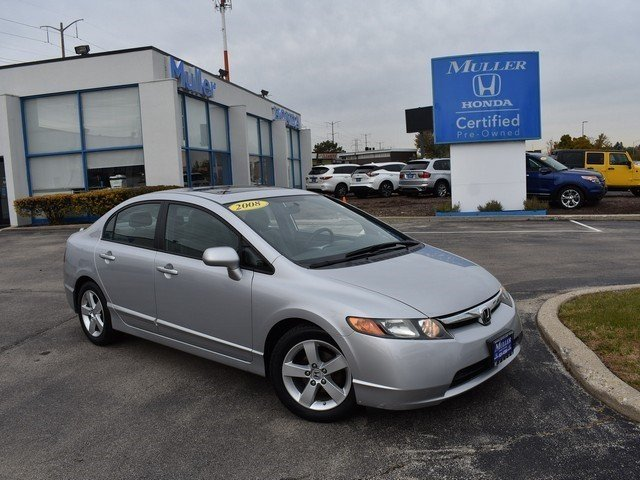 Pre Owned 2008 Honda Civic EX
