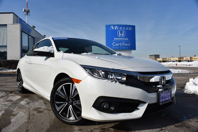 Certified Pre Owned 2016 Honda Civic Coupe Ex L