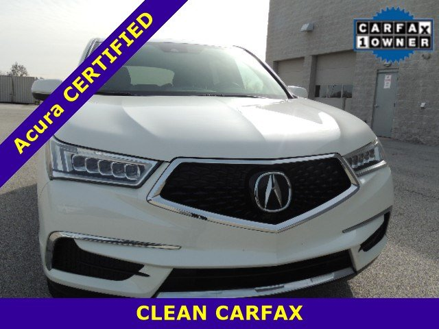 Certified Pre-Owned 2017 Acura MDX FWD