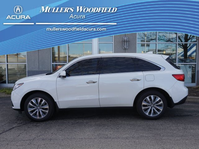 Pre Owned 2016 Acura Mdx W Tech Acurawatch Plus