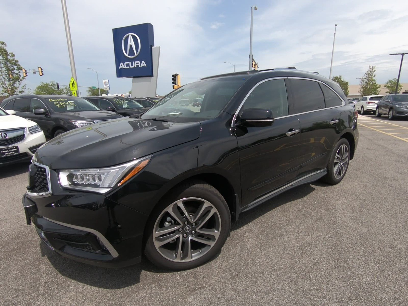 New 2017 Acura MDX w Advance Pkg Sport Utility M