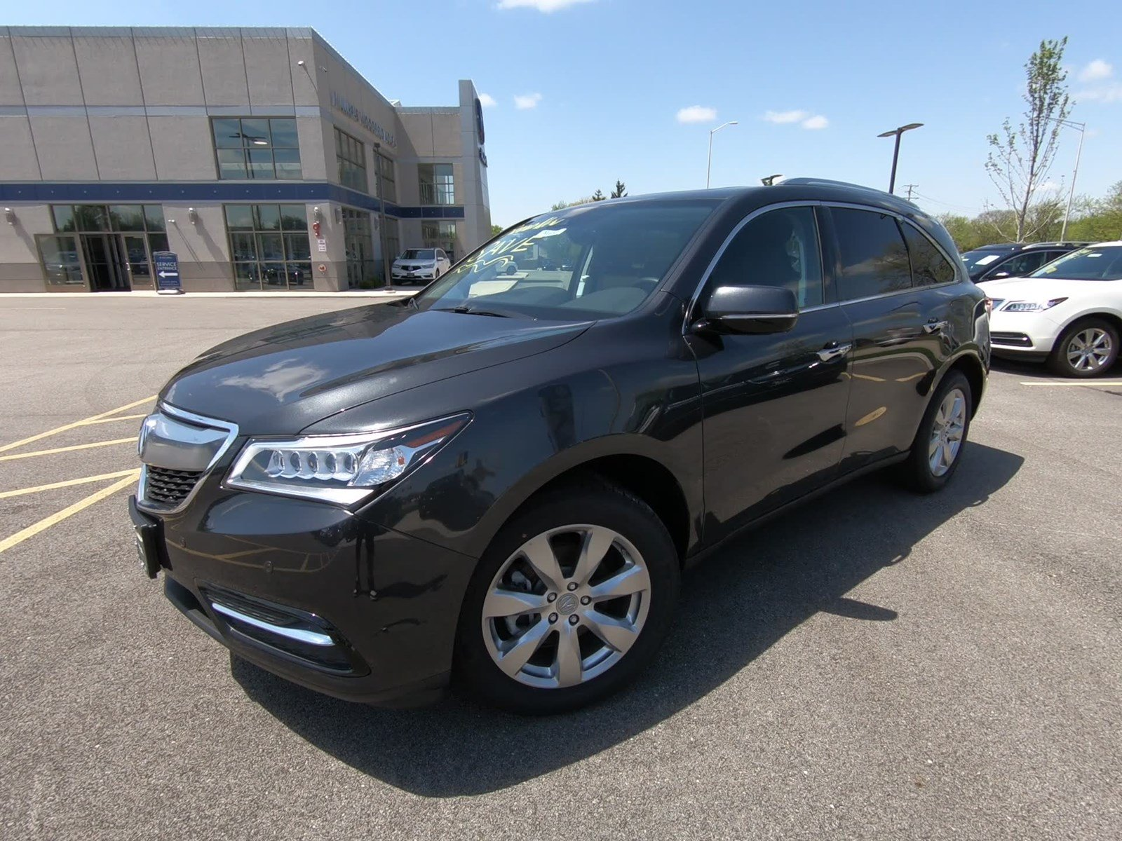 New 2016 Acura MDX w Advance Sport Utility M