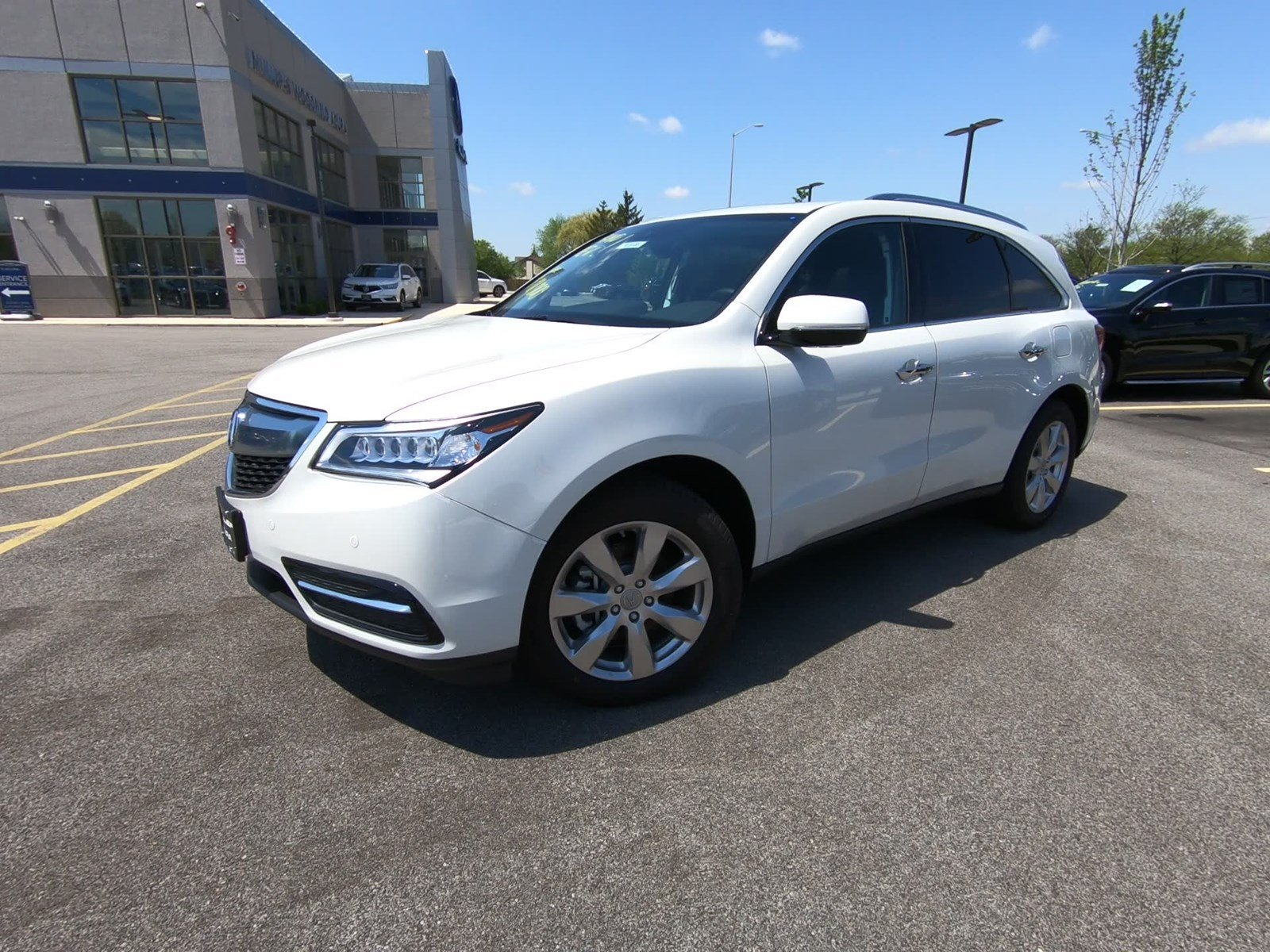 New 2016 Acura MDX w Advance Entertainment Sport Utility M