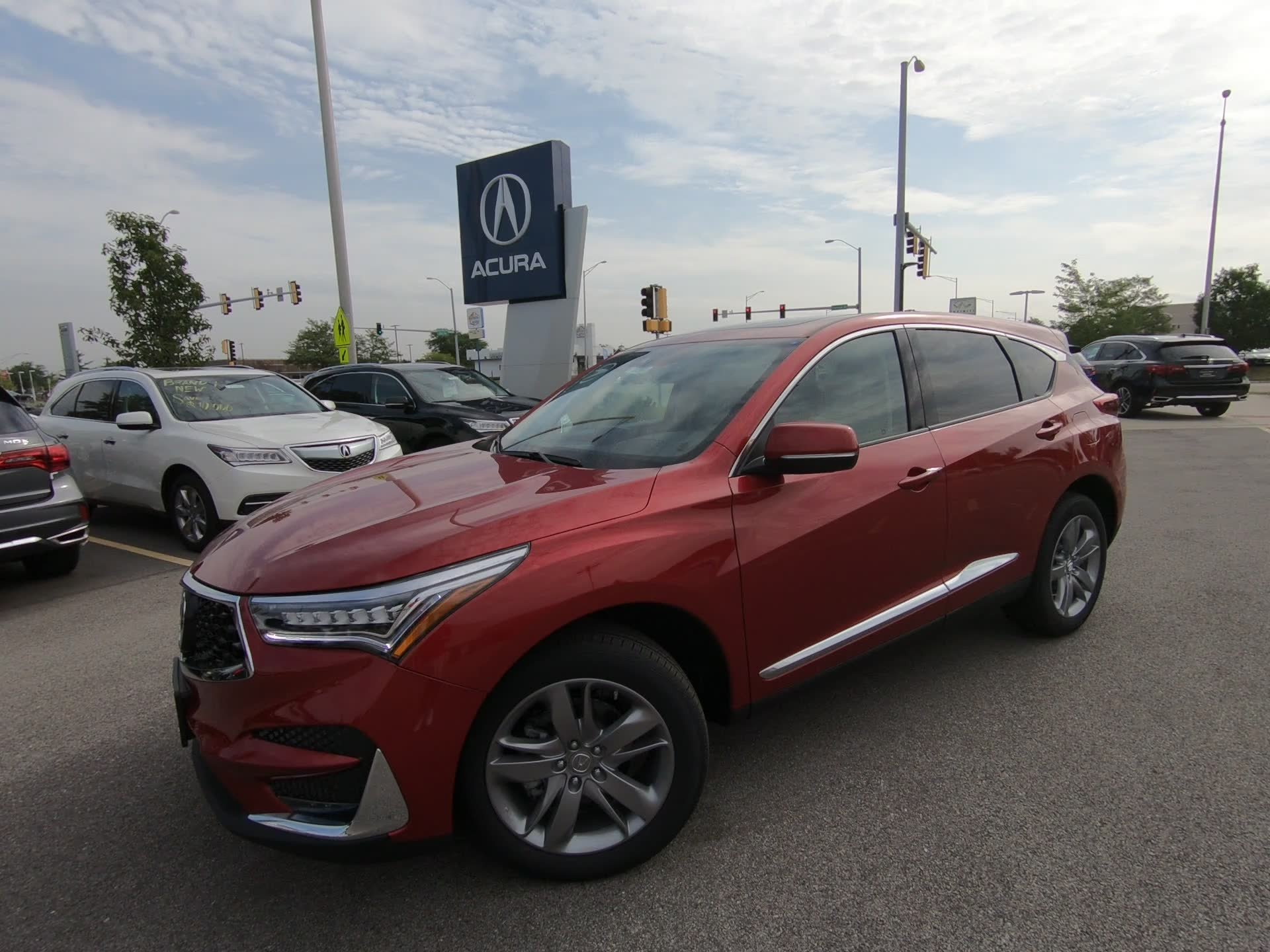 New 2019 Acura RDX w Advance Pkg Sport Utility D
