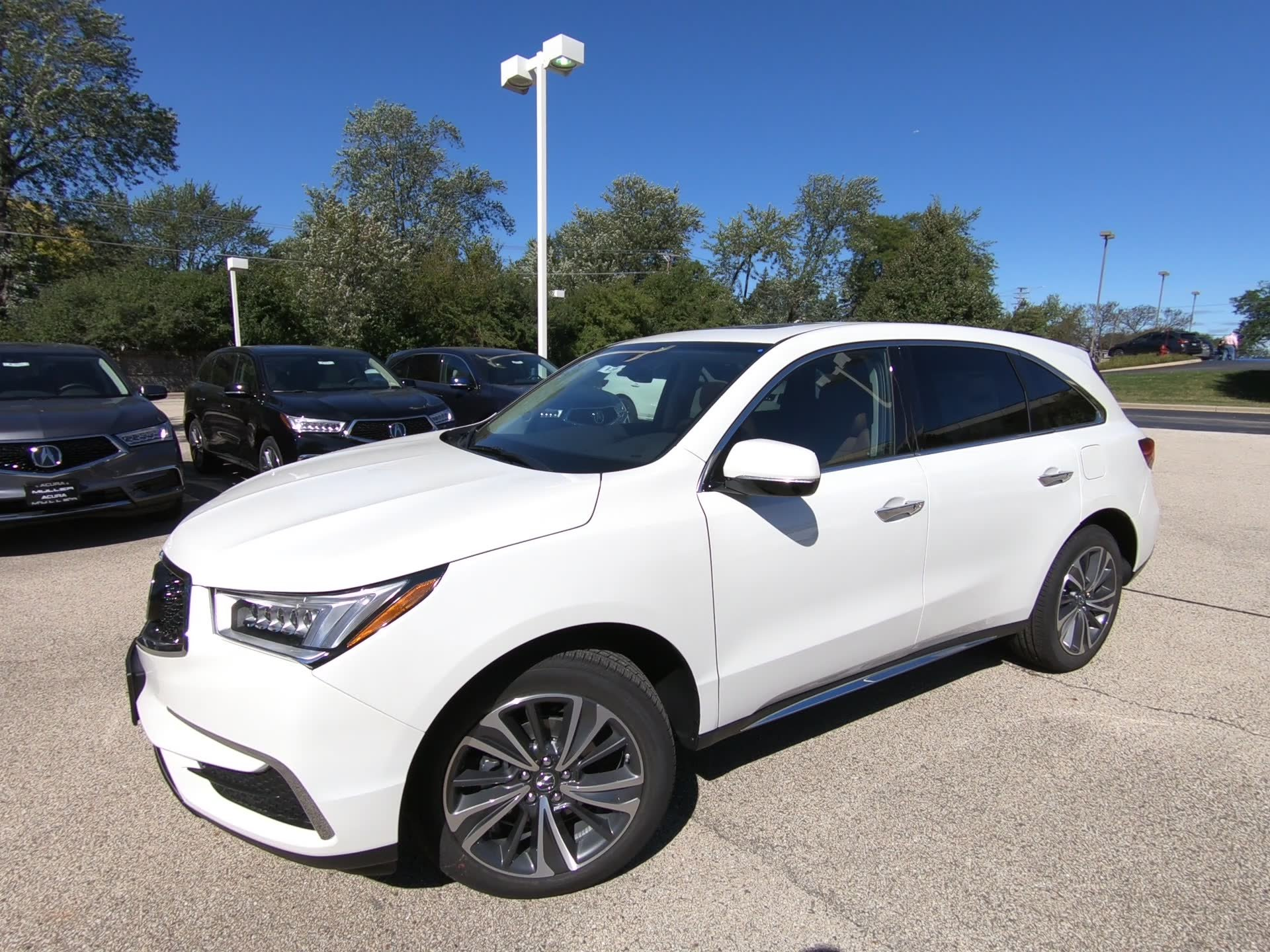 New 2019 Acura MDX w Technology Entertainment Pkg Sport Utility