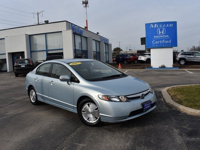 Pre Owned 2007 Honda Civic Hybrid Base W Nav