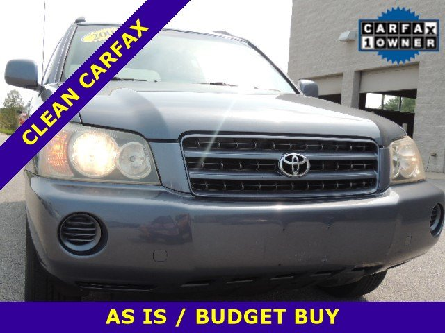 Pre-Owned 2003 Toyota Highlander 4dr 4-Cyl