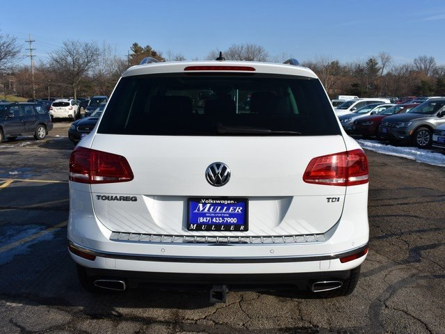 New 2016 Volkswagen Touareg Tdi Executive Suv Vw6047