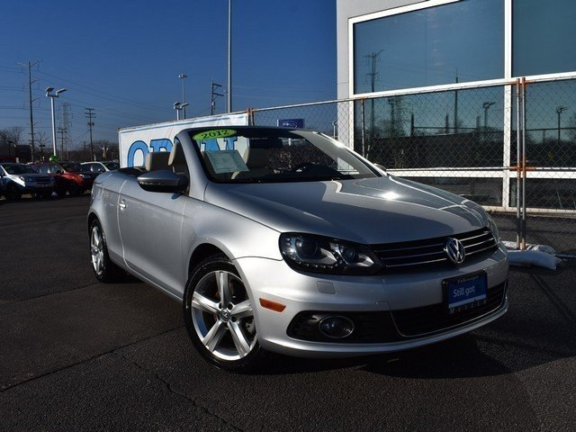 Certified Pre-Owned 2012 Volkswagen Eos Lux Tech