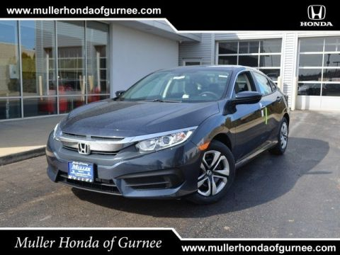 New 2018 Honda Civic Sedan LX Manual