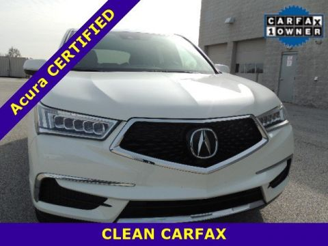 Certified Pre-Owned 2017 Acura MDX FWD 4dr