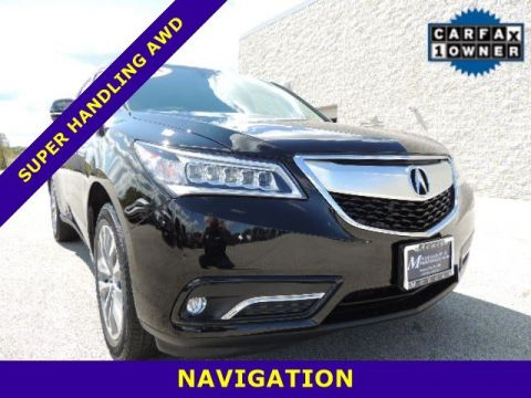 Pre-Owned 2015 Acura MDX SH-AWD Tech Pkg