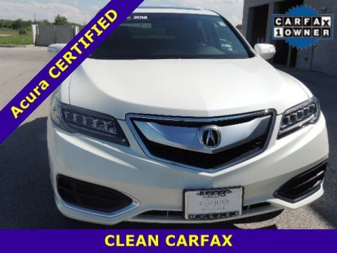 Certified Pre-Owned 2018 Acura RDX FWD