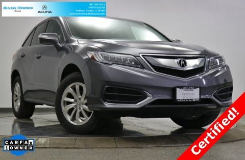 Certified Pre-Owned 2018 Acura RDX w/Technology/AcuraWatch Plus Pkg