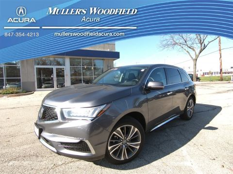 Certified Pre-Owned 2018 Acura MDX w/Technology Pkg
